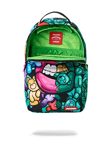 SPRAYGROUND BACKPACK ZOMBIE GUMMY BEAR LIPS BACKPACK - backpacks4less.com