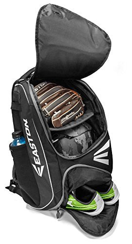EASTON E210BP Bat & Equipment Backpack Bag | Baseball Softball | 2020 | Royal | 2 Bat Sleeves | Smart Gear Storage Shelf | Vented Shoe Pocket | Valuables Pocket | Fence Hook - backpacks4less.com