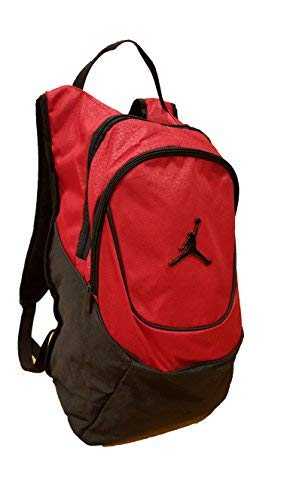 Nike Jordan Jumpman 23 Round Shell Style Backpack - Red - backpacks4less.com