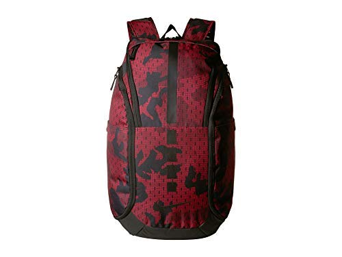 Nike Hoops Elite Pro Basketball Backpack (Team Red/Gym Red/University Red) - backpacks4less.com
