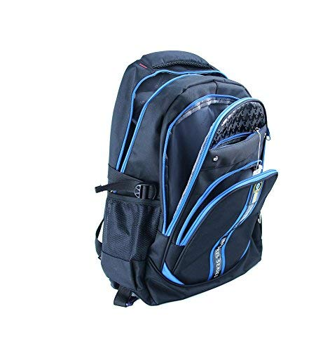 Meetbelify Kids Rolling Backpacks Luggage Six Wheels Unisex Trolley School Bags Black - backpacks4less.com