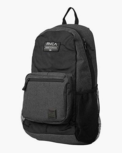 RVCA Men's Estate Backpack, charcoal heather, One Size - backpacks4less.com