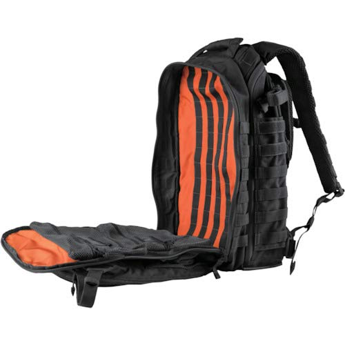 5.11 Tactical All Hazard's Prime Backpack 29L, 1050D Nylon, with Padded Laptop Sleeve, Style 56997, Black