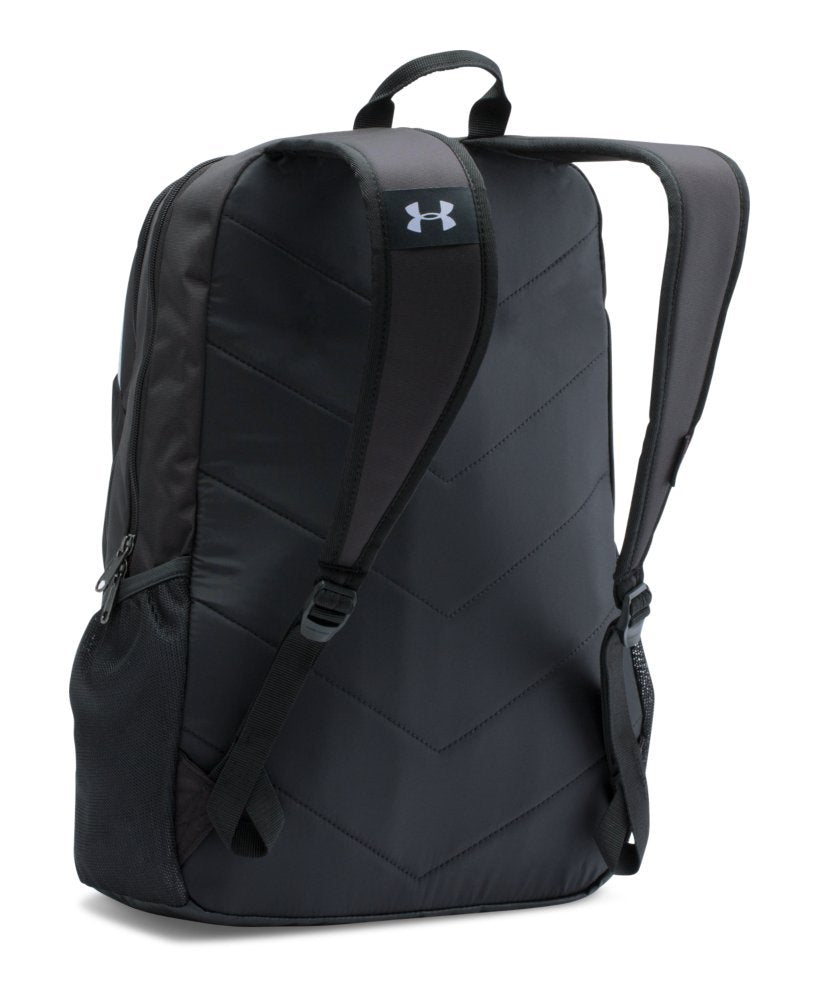 Under Armour Boy's Storm Scrimmage Backpack, Black (001)/Silver, One Size - backpacks4less.com