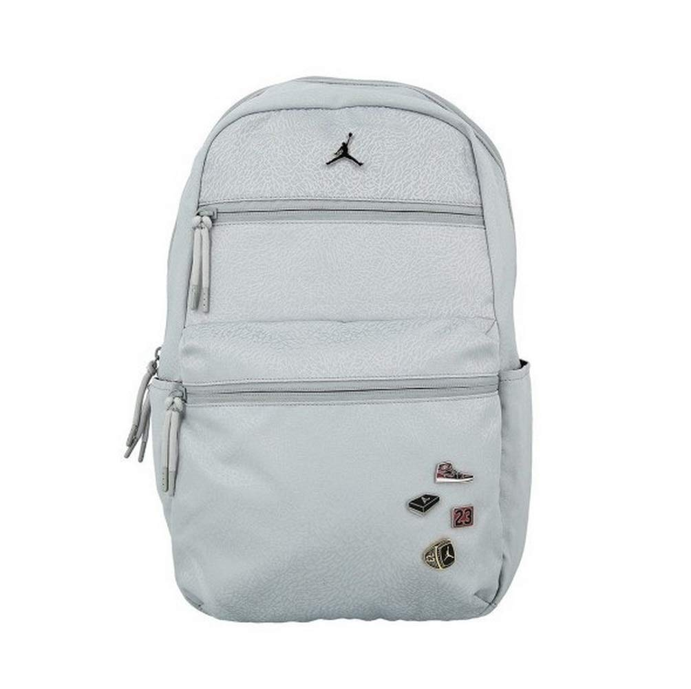 Nike Jordan Jumpan Pin Pack Laptop Backpack Wolf Gray Large - backpacks4less.com