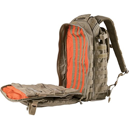 5.11 Tactical All Hazards Prime Backpack, 29 Liters Capacity, Laptop Compartment, Style 56997, Sandstone - backpacks4less.com