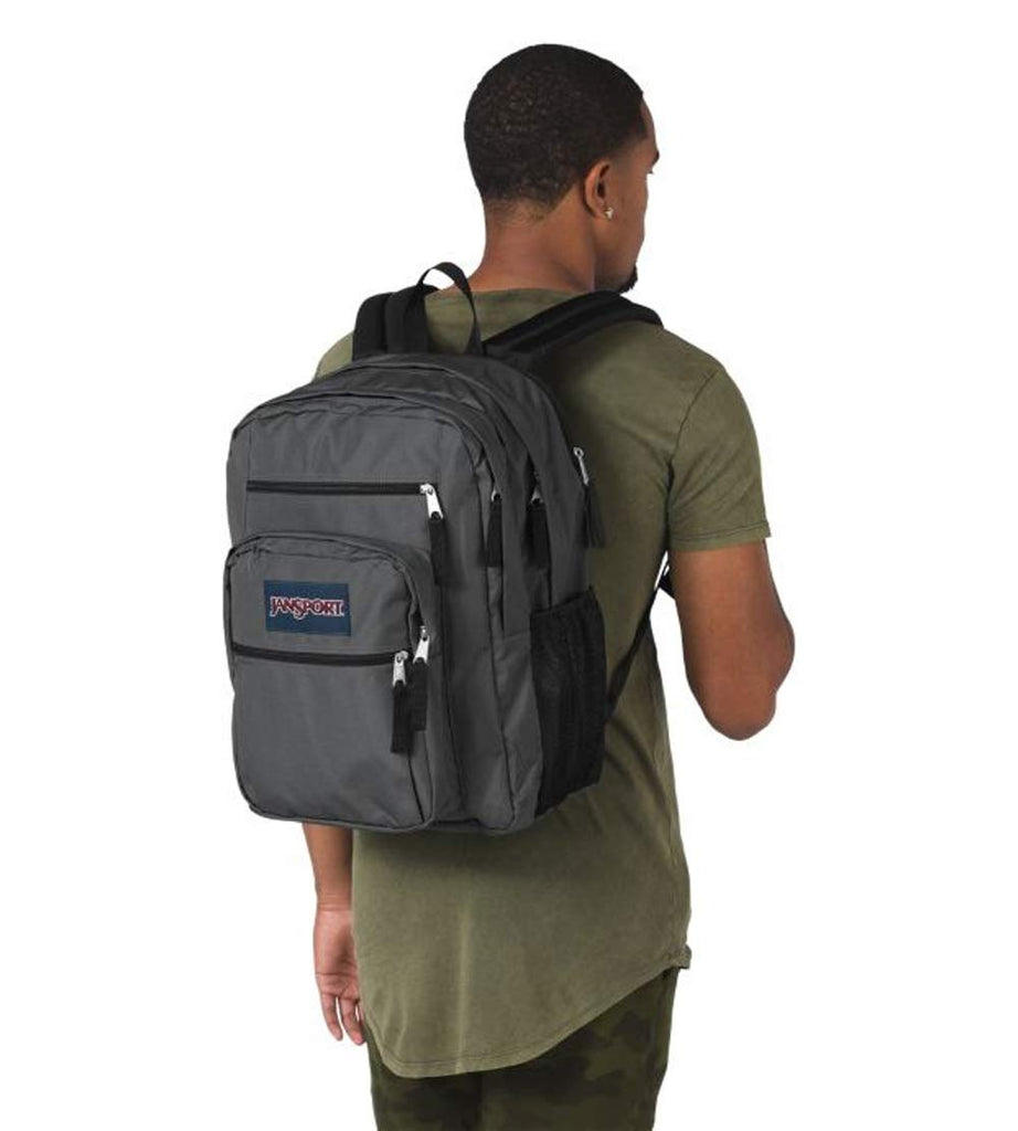 JanSport Big Student Backpack (Deep Grey (Grey)) - backpacks4less.com