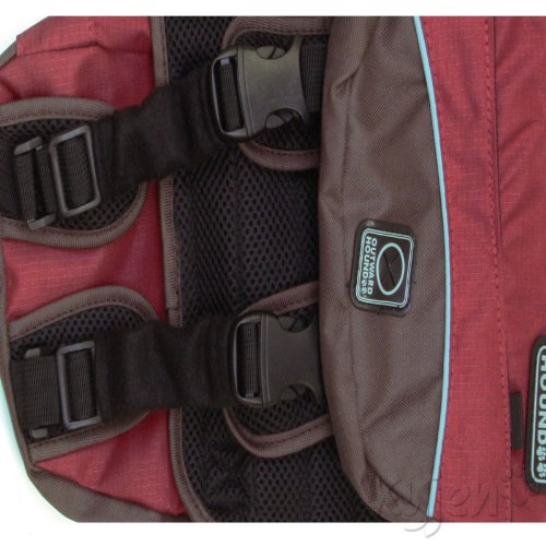 Outward Hound Kyjen Excursion Dog Backpack, Medium, Red Clay and Java - backpacks4less.com