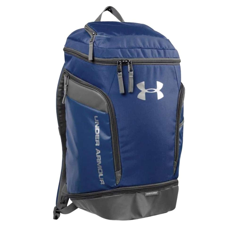 Under Armour Soccer Striker Team Backpack (Midnight Navy) - backpacks4less.com