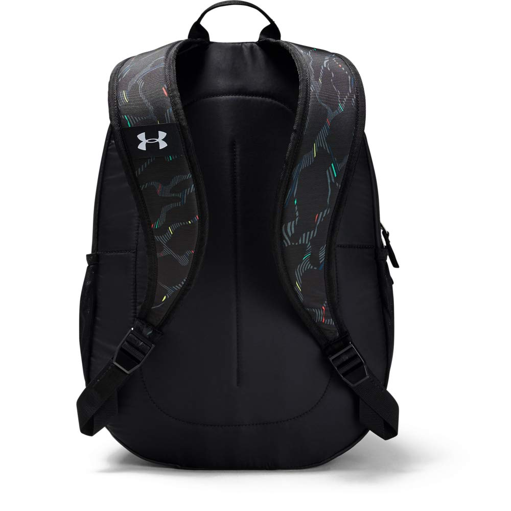 Under Armour Unisex Scrimmage Backpack 2.0, Black (004)/White, One Size Fits All - backpacks4less.com
