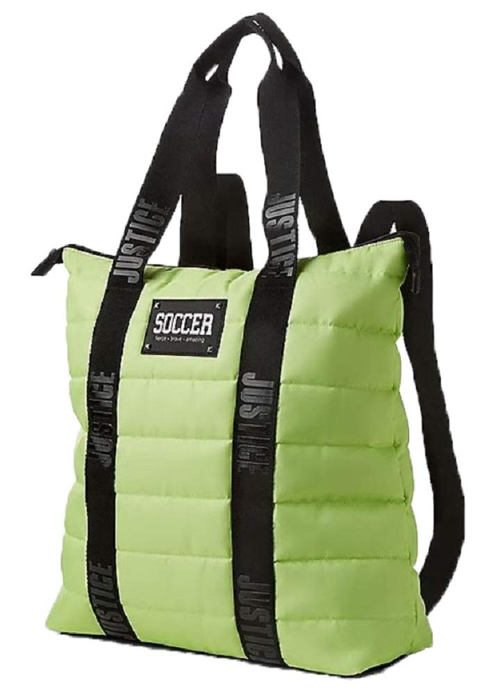 Quilted Soccer Duffel Backpack Tote/Duffle Bag for Girls - backpacks4less.com