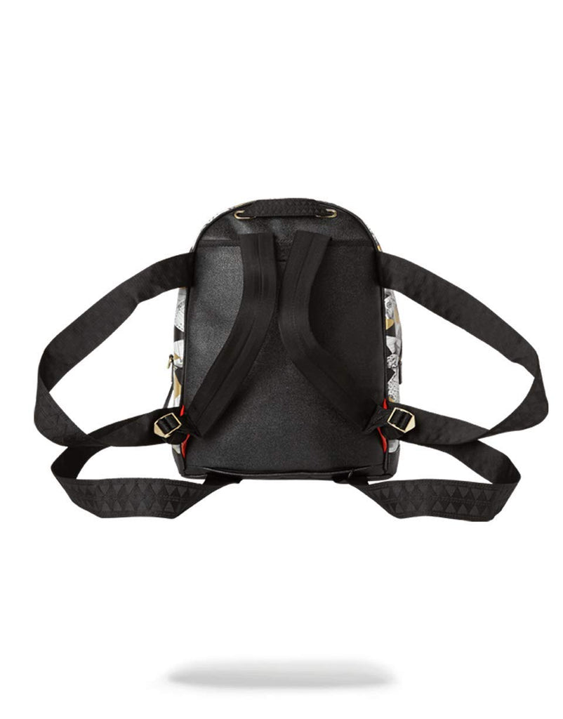 SPRAYGROUND BACKPACK 6-STRAP FRACTAL MONEY EMPEROR - backpacks4less.com