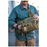 5.11 RUSH MOAB 10 Tactical Sling Pack Backpack, Style 56964, Black - backpacks4less.com