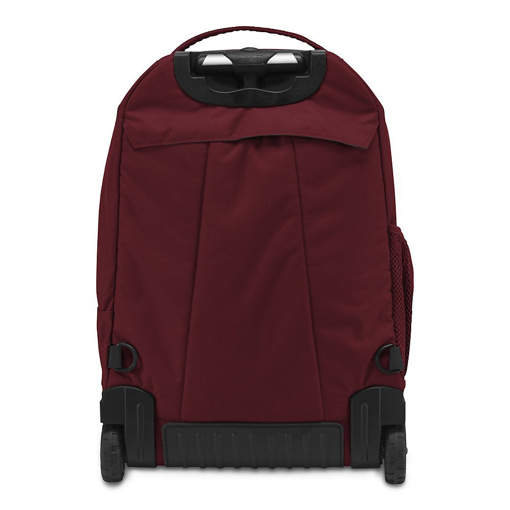 JanSport Driver 8 Rolling Backpack - Viking Red - backpacks4less.com