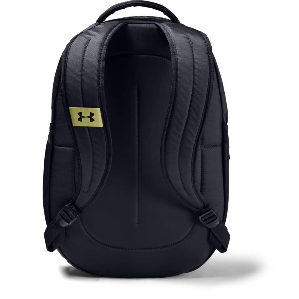 Under Armour Unisex Hustle 4.0 Backpack, Black (005)/Black, One Size Fits All - backpacks4less.com