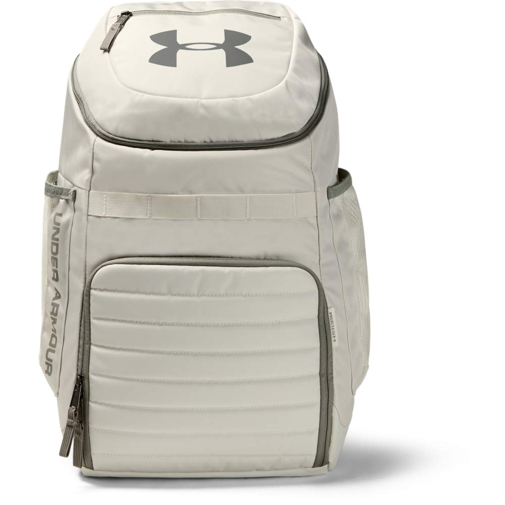 Under Armour Unisex Undeniable 3.0 Backpack, Summit White (110)/Gravity Green, One Size Fits All - backpacks4less.com