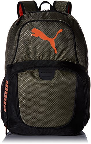 PUMA Men's Evercat Contender 3.0 Backpack, deep olive, One Size - backpacks4less.com