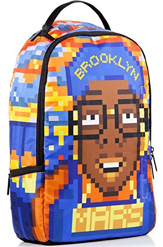 Sprayground x Spike Lee Mars Blackmon Pixels Backpack, B310 - backpacks4less.com