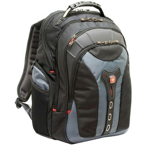 "SwissGear 17"" Gray Notebook Backpack - backpacks4less.com"