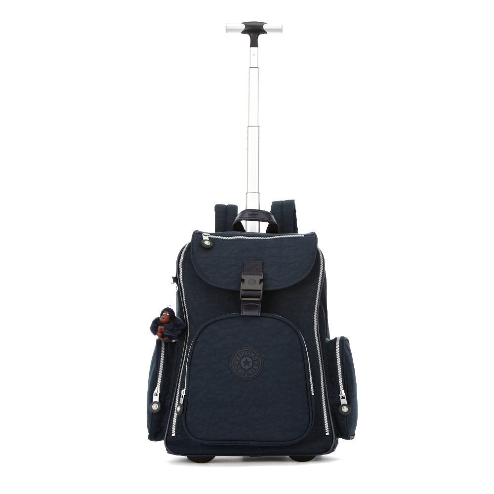 Kipling Luggage Alcatraz Wheeled Backpack with Laptop Protection, True Blue, One Size - backpacks4less.com