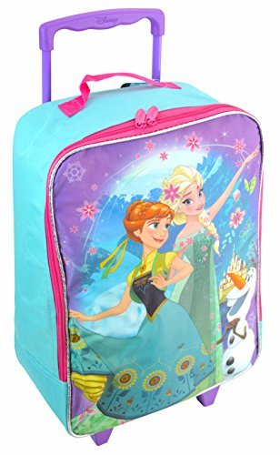 "Disney Pixar Frozen 16"" Rolling Backpack - backpacks4less.com"