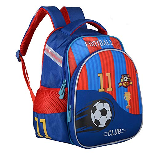 Meetbelify Big Kids School Backpack For Boys Kids Elementary School Bags Out Door Day Pack (footballbag) - backpacks4less.com