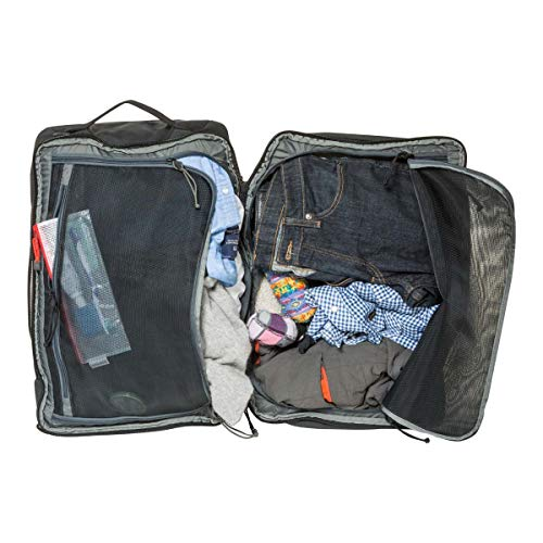 MYSTERY RANCH Mission Rover Travel Bag - Carry-on Suitcase, 3-Way Carry, Black - backpacks4less.com