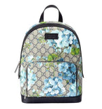 Gucci Unisex Beige/Blue Bloom GG Coated Canvas Small Backpack with Box 427042 8493