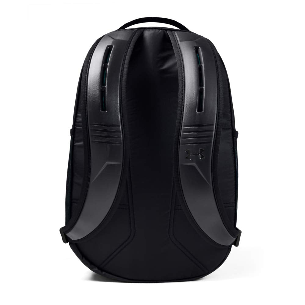 Under Armour Recruit Backpack 2.0, Black//Breathtaking Blue, One Size Fits All - backpacks4less.com