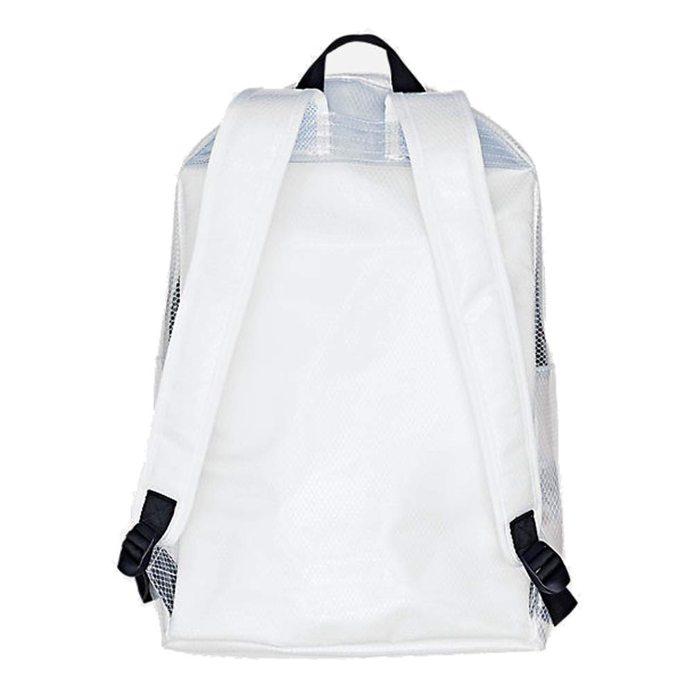 Champion LIFE Supersize Clear Backpack White One Size - backpacks4less.com