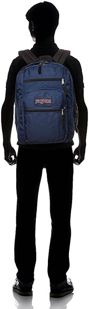 JANSPORT BIG STUDENT BACK BAG (Navy) - backpacks4less.com