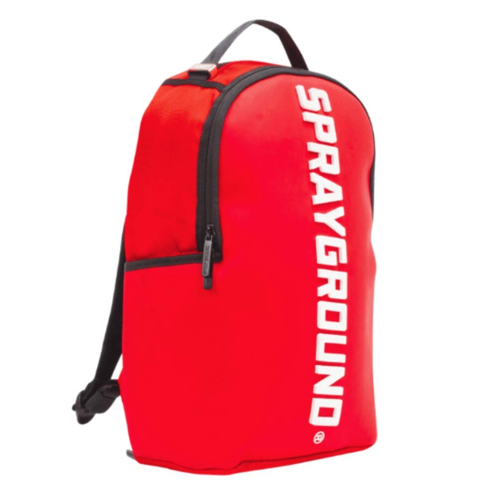 SPRAYGROUND RUBBER LOGO - backpacks4less.com