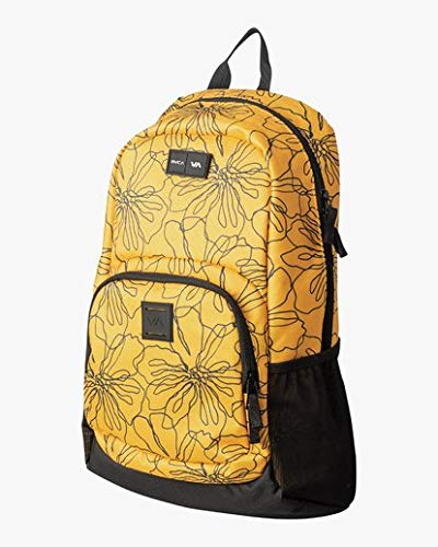 RVCA Men's Estate Backpack II, Yellow, ONE Size - backpacks4less.com