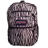 JanSport Big Student Backpack- Sale Colors (Black/White Zebra Stripe) - backpacks4less.com