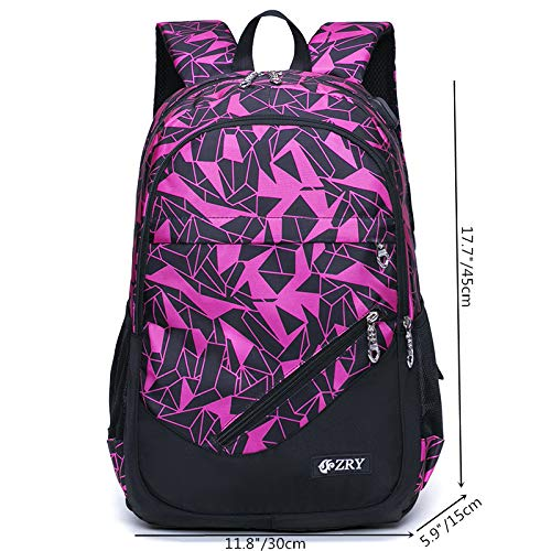 Meetbelify Big Kids School Backpack For Boys Kids Elementary School Bags Out Door Day Pack (black bag) - backpacks4less.com