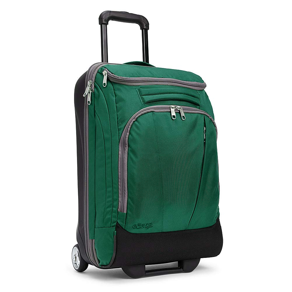 eBags TLS Mother Lode Mini 21 Inch Wheeled Duffel Bag Luggage - Carry-On - (Emerald) - backpacks4less.com