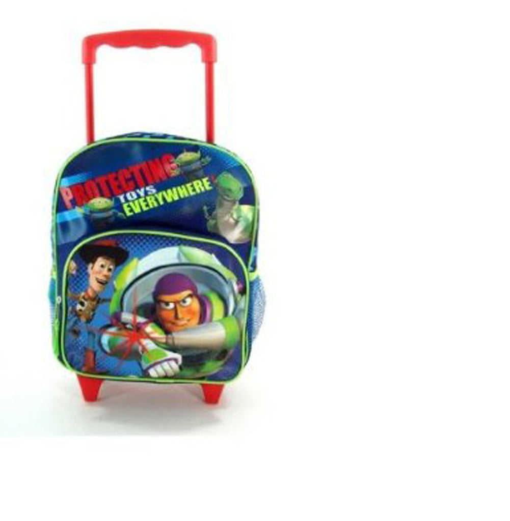 Disney Boys Toy Story Blue Protect Toys Everywhere Backpack (Blue) - backpacks4less.com