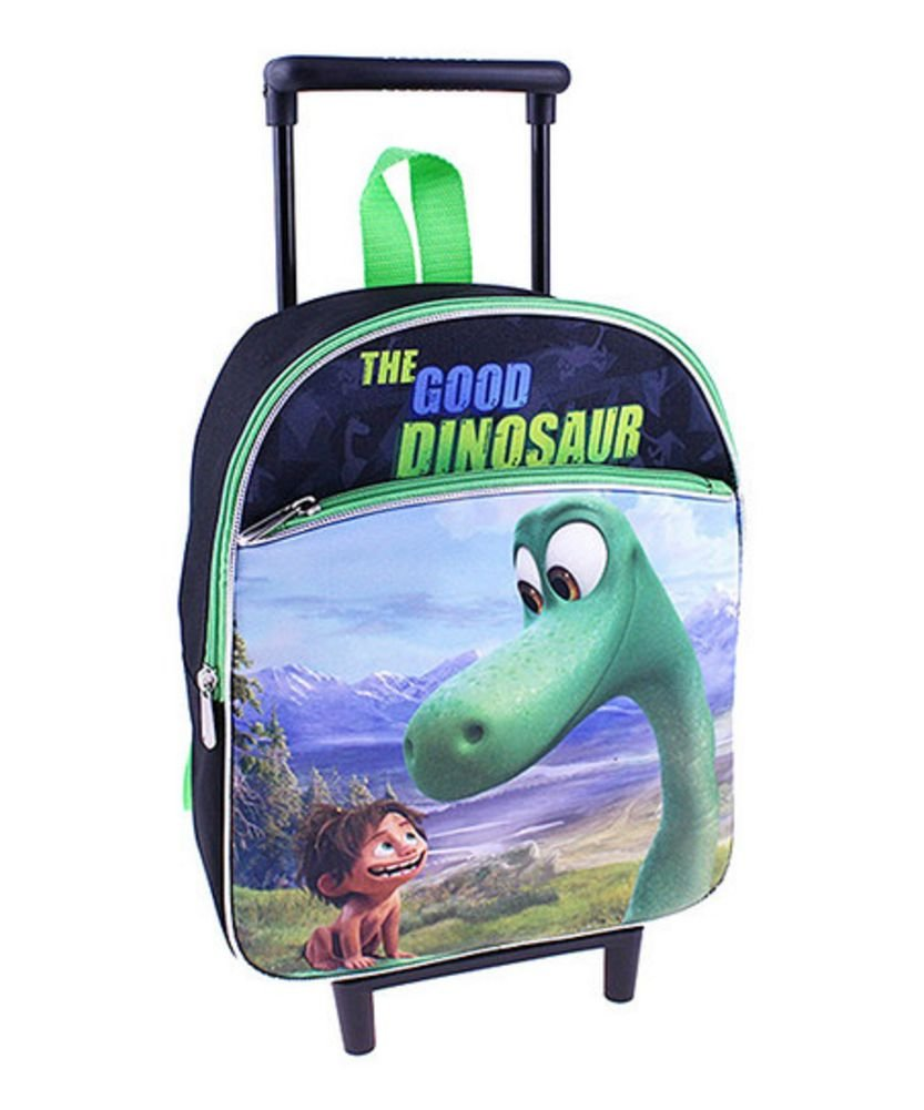 Disney the Good Dinosaur Rolling Backpack with Wheels Small Blue - backpacks4less.com