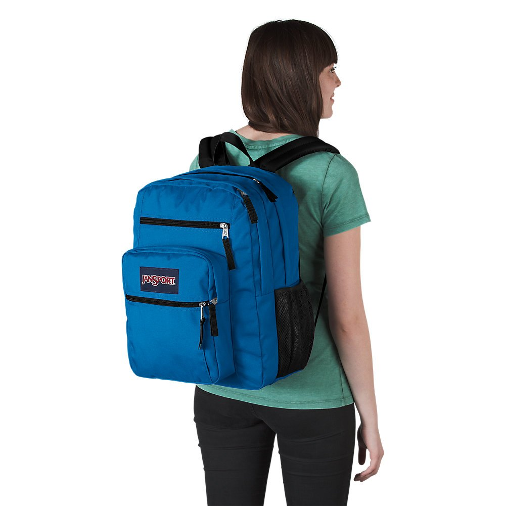 Jansport Big Student Backpack, Stellar Blue - backpacks4less.com