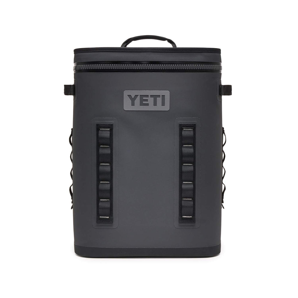 YETI Hopper Backflip 24 Soft Sided Cooler/Backpack, Charcoal - backpacks4less.com