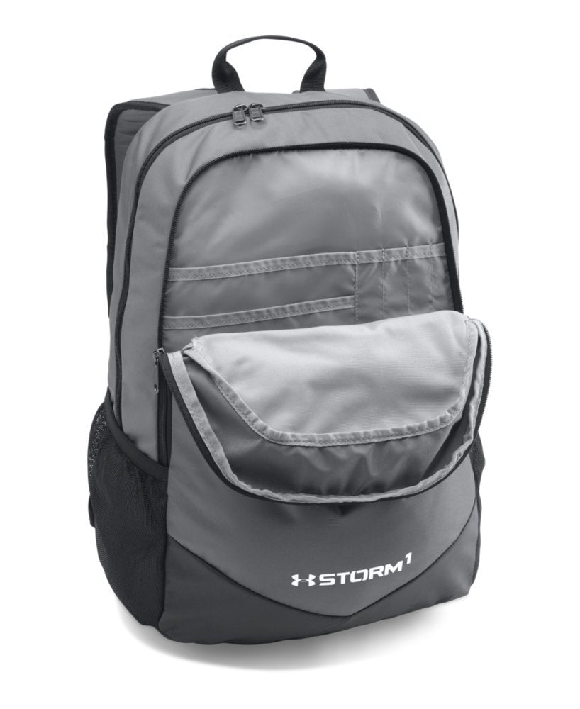 Under Armour Boy's Storm Scrimmage Backpack, Graphite (040)/White, One Size - backpacks4less.com