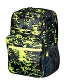 Under Armour HOF Youth Boys Athletic Multi purpose School Backpack (Black/green/grey) - backpacks4less.com