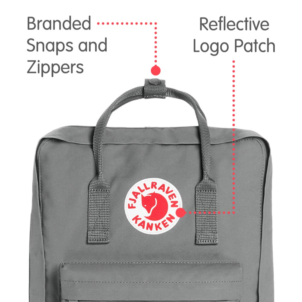 Fjallraven - Kanken Classic Backpack for Everyday, Fog - backpacks4less.com
