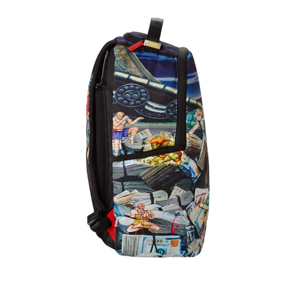 Sprayground, Backpack Street Fighter, Multi, SPR_910B2715NSZ - backpacks4less.com