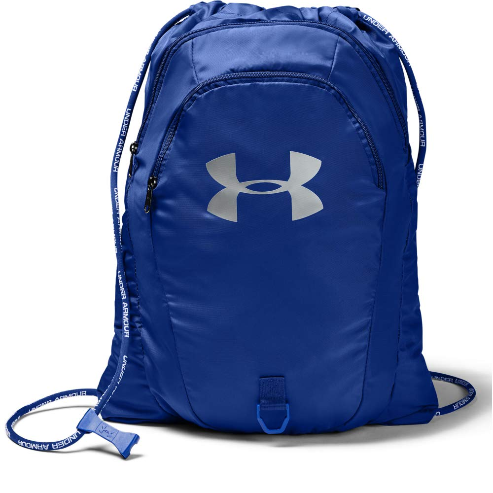Under Armour Undeniable 2.0 Sackpack, Royal (400)/Silver, One Size Fits All - backpacks4less.com