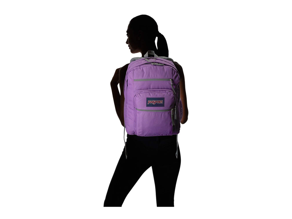 JanSport Unisex Big Student Vivid Lilac One Size - backpacks4less.com
