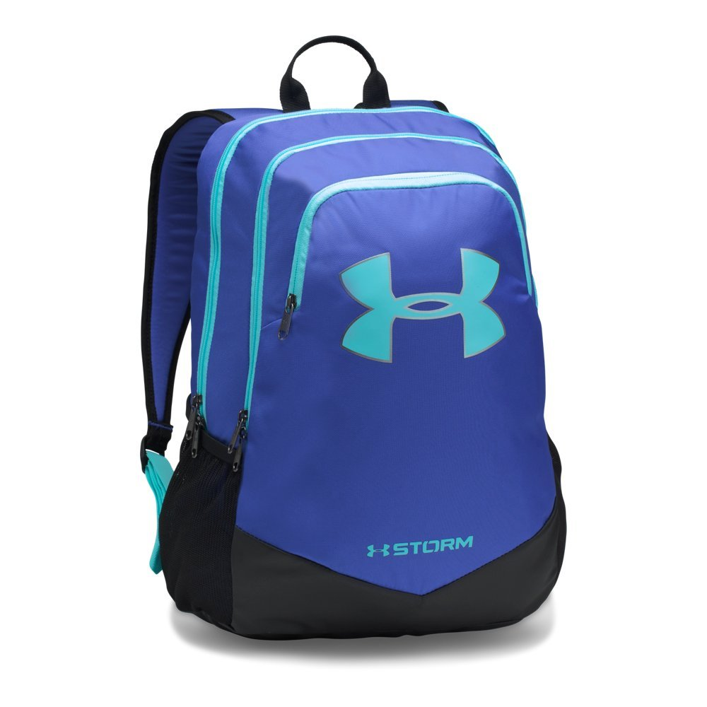 Under Armour Boy's Storm Scrimmage Backpack,Constellation Purple (530)/Blue Infinity, One Size - backpacks4less.com