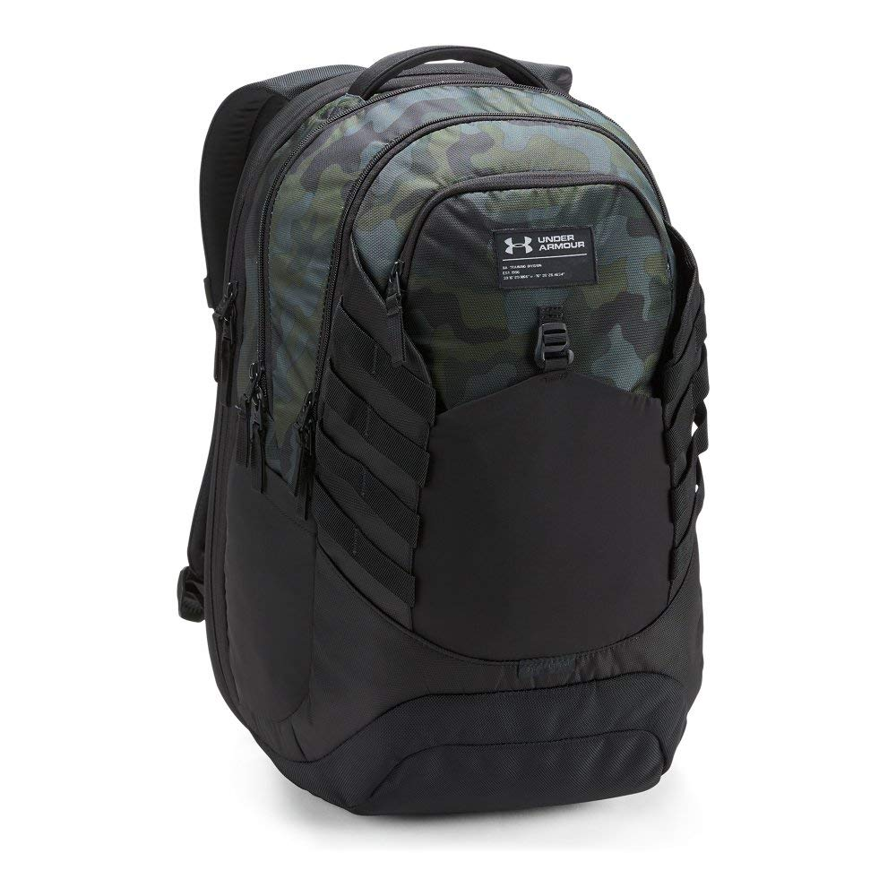Under Armour Hudson Backpack, Desert Sand (290)/Black, One Size Fits All Fits All - backpacks4less.com