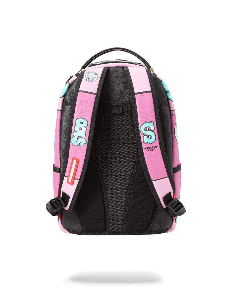 SPRAYGROUND BACKPACK YUMMY MONEY (ASIAN DOLL) - backpacks4less.com