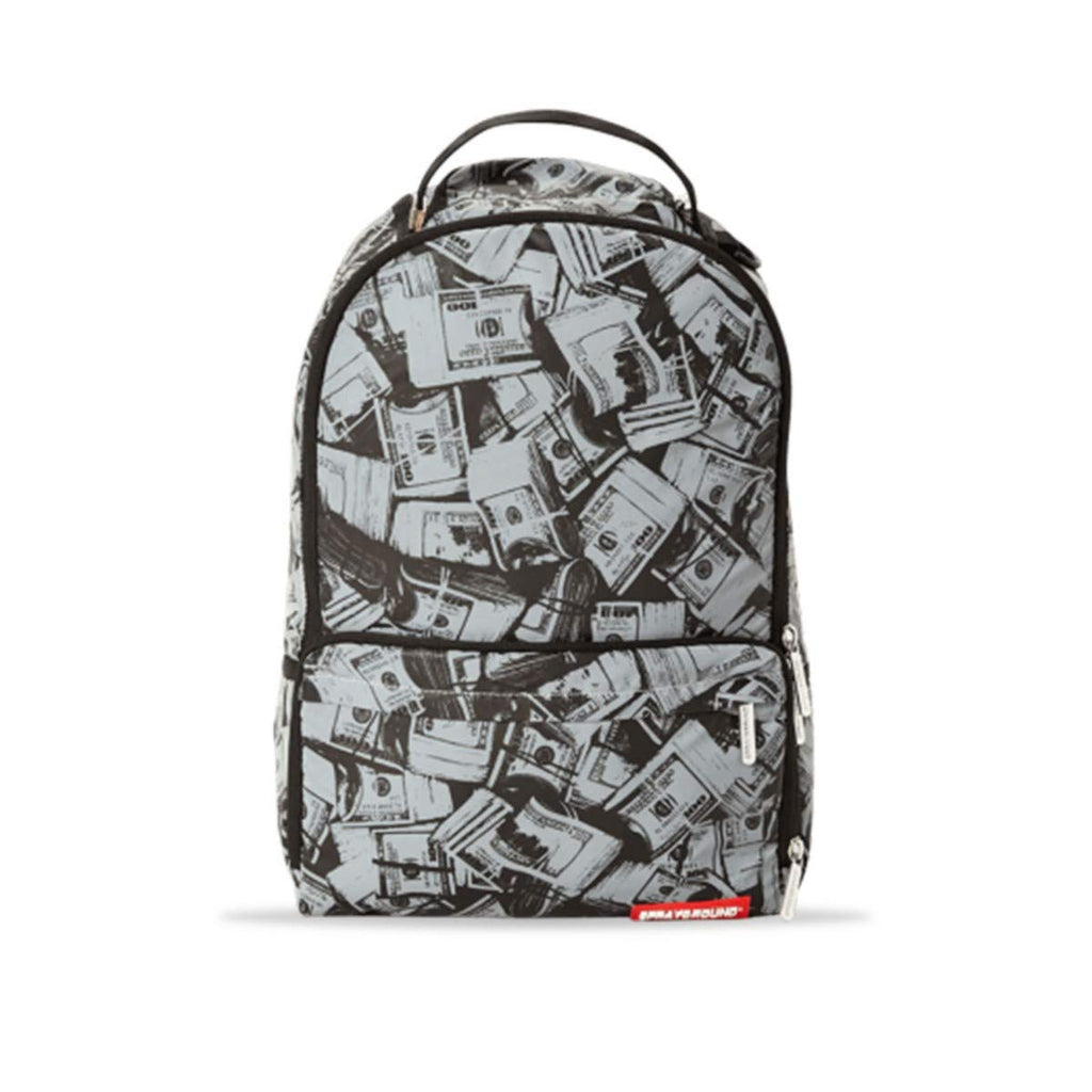 Sprayground | Backpack 3M Money Sneaker Cargo Silver | SPR_910B2050NSZ - backpacks4less.com